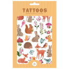 Petit Monkey Tattoos Woodland Friends _1