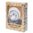 Petit Monkey Baby First Soft Book Sleepy Wakey _1