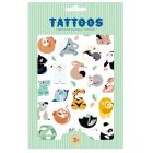 Petit Monkey Tattoos Wild Animals _1