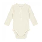 Gray Label Baby L/S Henley Body Cream_1