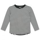 Gray Label L/S Tee Nearly Black/Off White_1