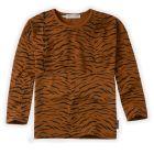 Sproet & Sprout T-shirt print Tiger Longsleeve Caramel
