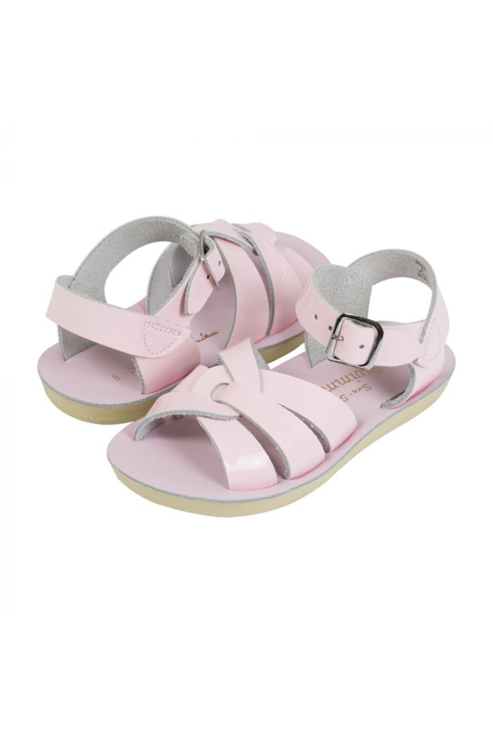 Salt-Water Sandals Swimmer Shiny Pink