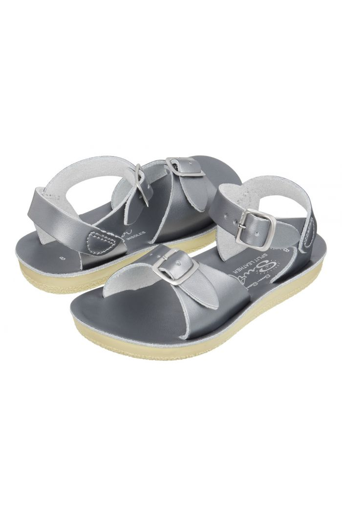 Salt-Water Sandals Surfer Pewter