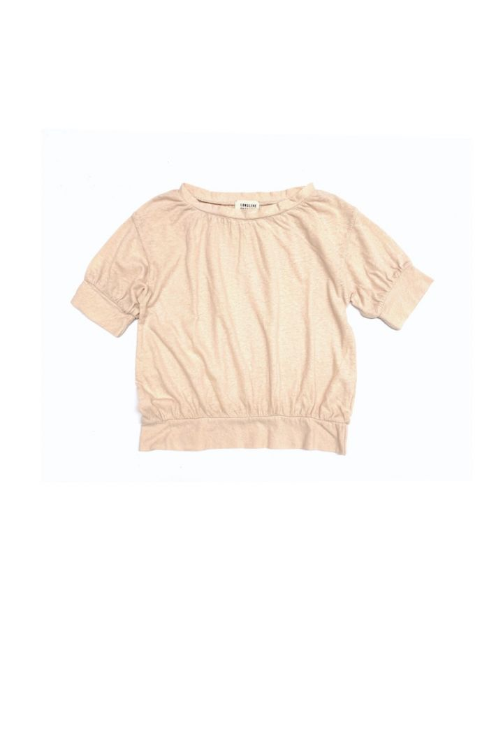 Longlivethequeen puff tee off white