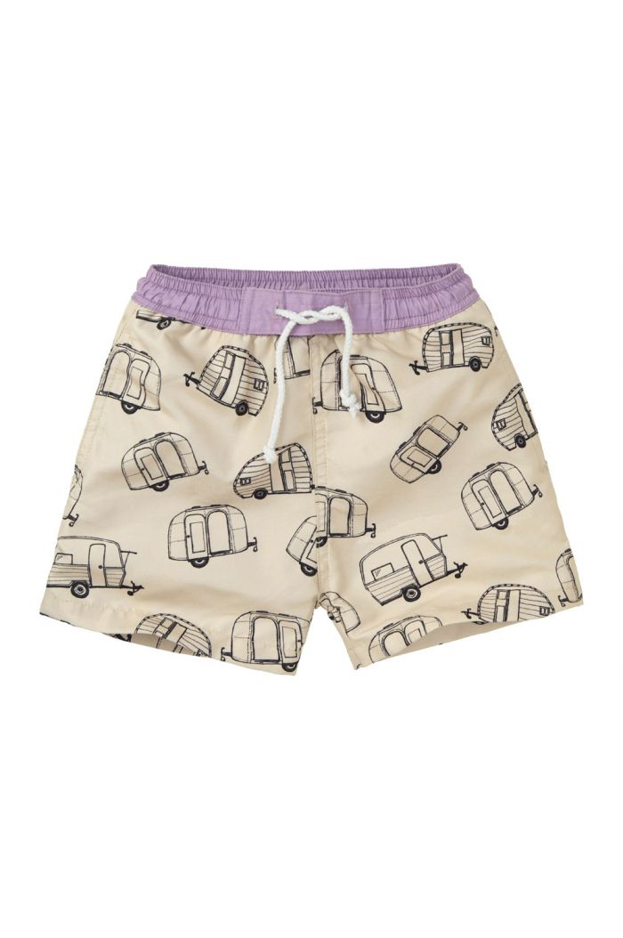 Sproet & Sprout Swim Short Caravan All-over Print shell