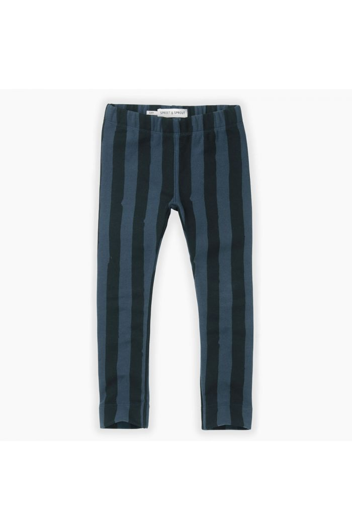 Sproet & Sprout Sweat legging Painted stripe Moonlight