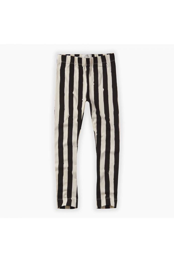 Sproet & Sprout Legging Painted Stripe Off white
