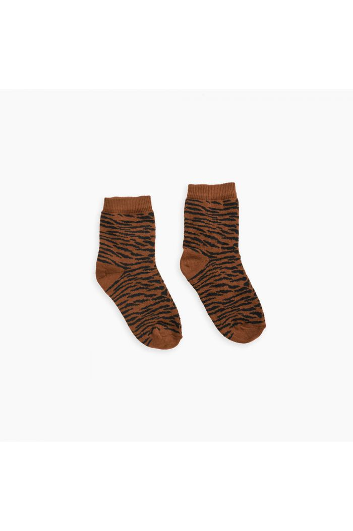Sproet & Sprout Socks Tiger Caramel