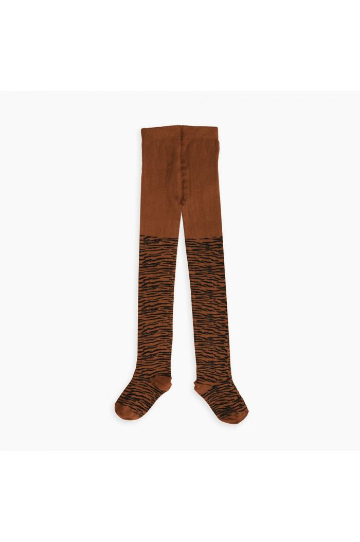 Sproet & Sprout Tights Tiger Caramel