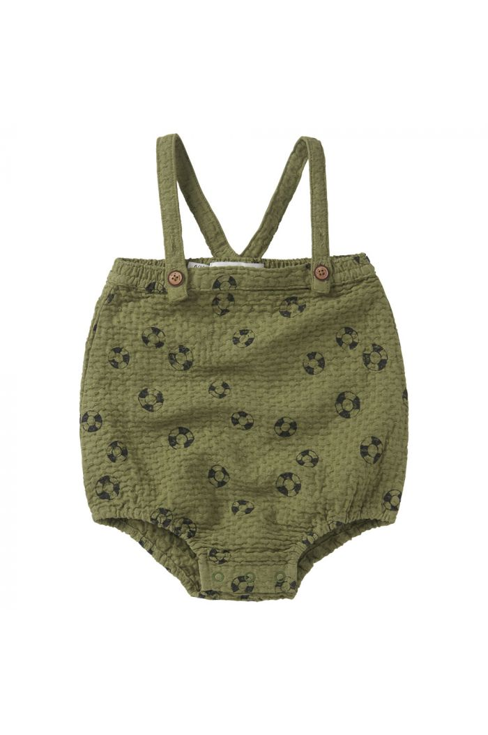 Sproet & Sprout Romper straps print Lifebuoy Tropical green