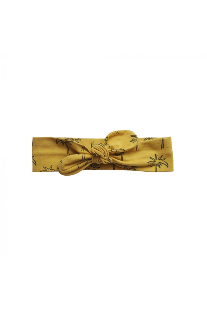 Sproet & Sprout Headband print Palm Tree Curcuma