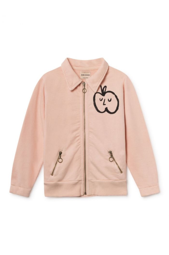 Bobo Choses Apple Zipped Sweatshirt