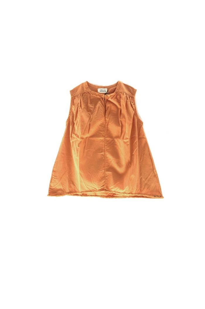 Longlivethequeen Cotton Top Orange