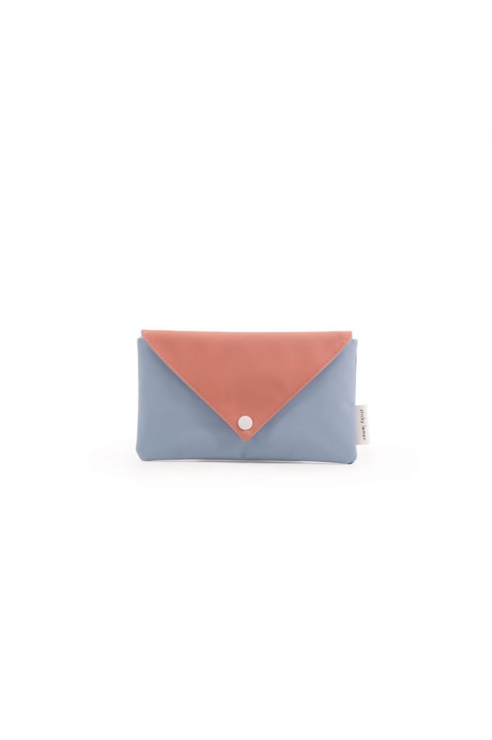 Sticky Lemon Pencil case Envelope Denim blue / Rusty Red / Ink Blue