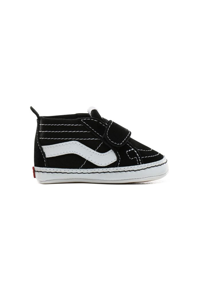 Vans Infant SK8-Hi Crib Velcro Black/True White