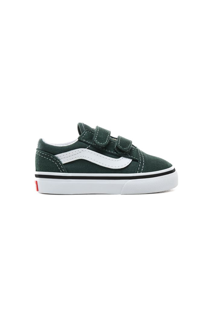 Vans Toddler Old Skool Velcro Trekking Green