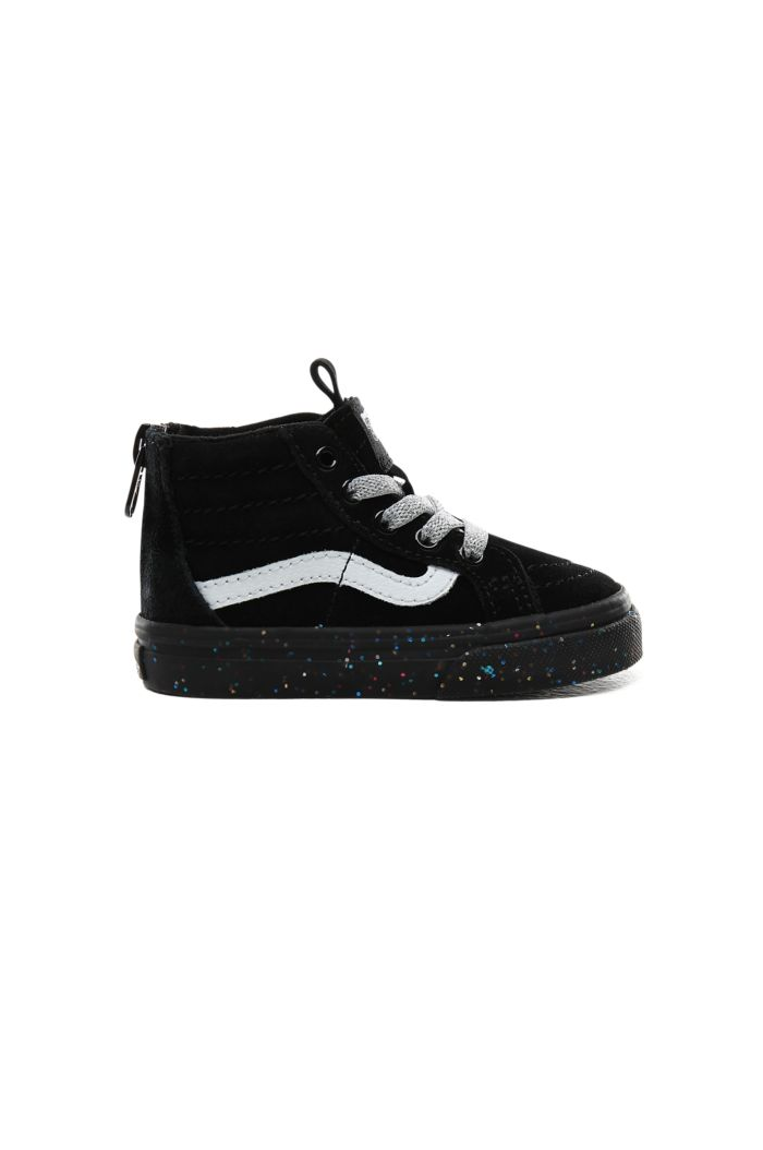 Vans Toddler SK8-Hi Zip (MTE) Glitter Sidewall/Black