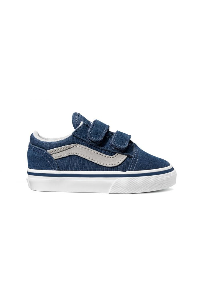 Vans Toddler Old Skool V Dress Blues/Drizzle