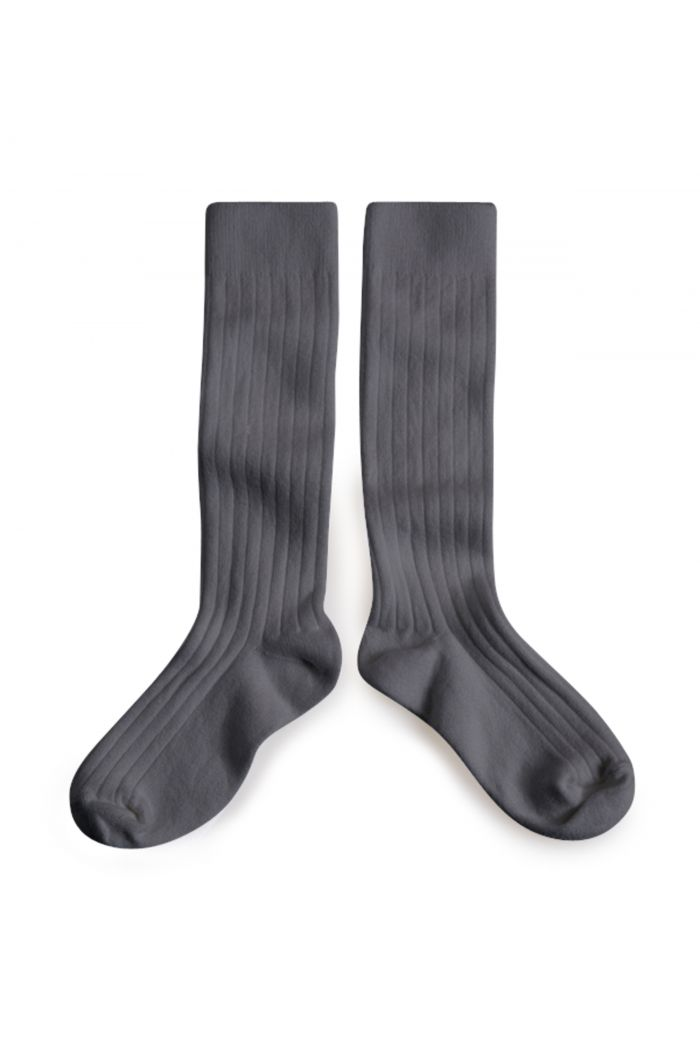 Collegien Knee High Socks Gris Orage