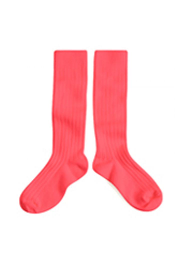 Collegien Knee High Socks Rhubarbe