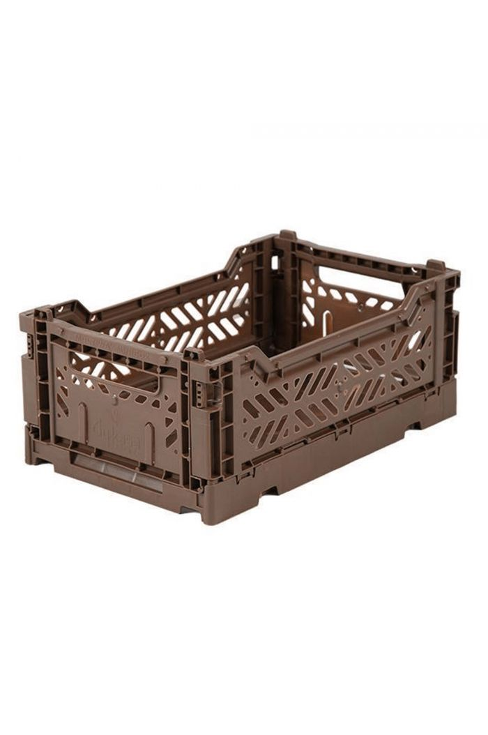 Ay-Kasa Folding Crates Brown