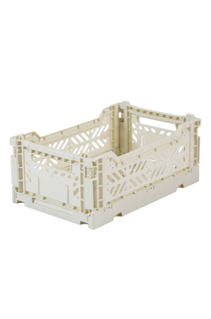 Ay-Kasa Folding Crates Light Grey