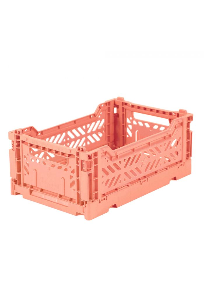 Ay-Kasa Folding Crates Salmon Pink