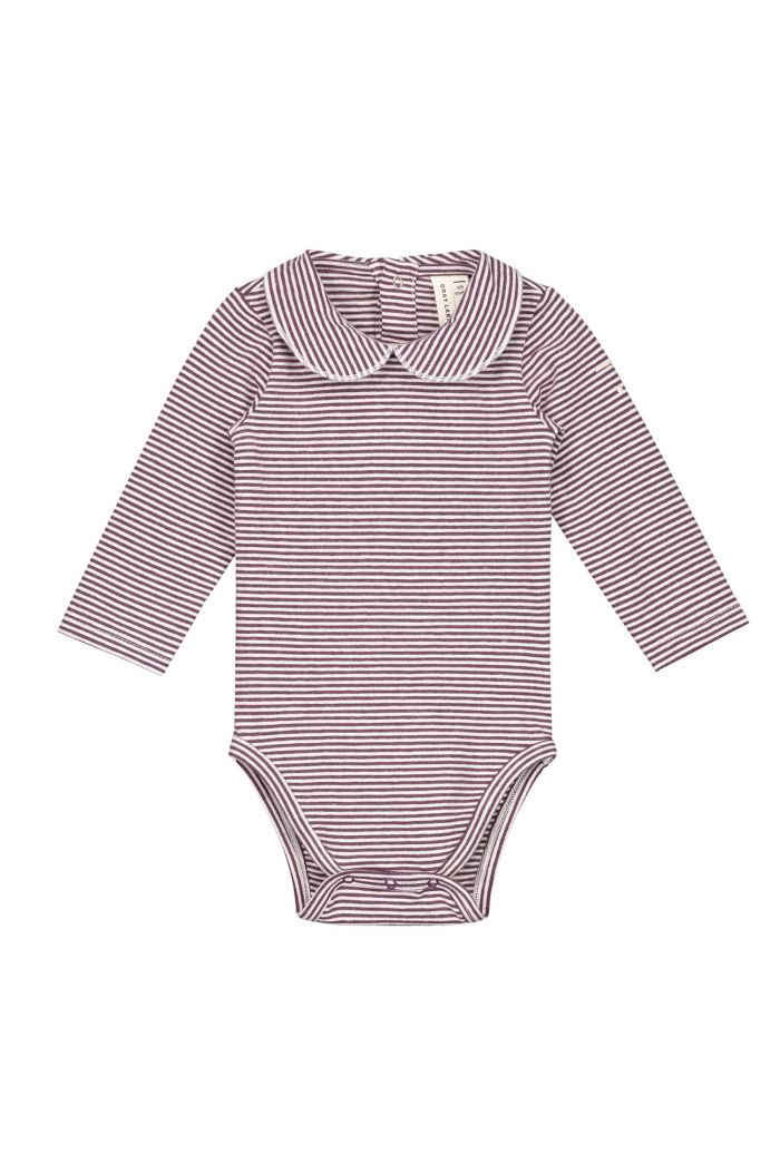 Gray Label Onesie with collar