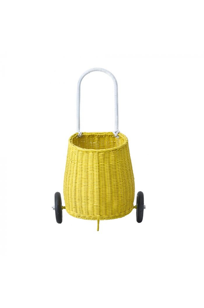 Olli Ella Luggy basket trolley Kids Yellow