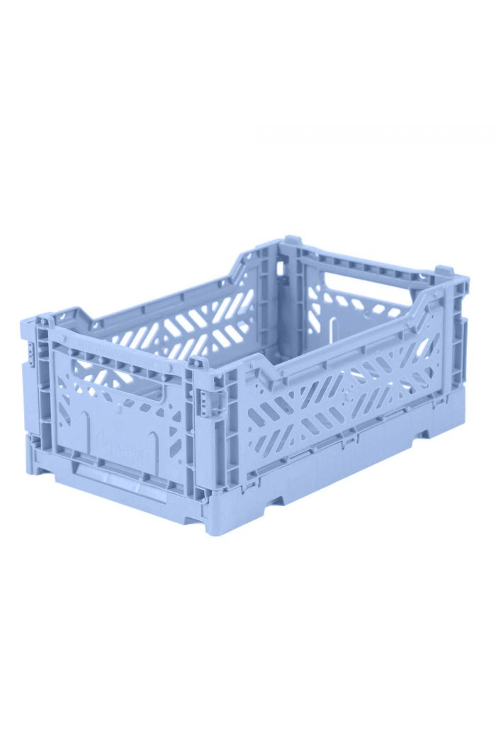 Ay-Kasa Folding Crates Baby Blue