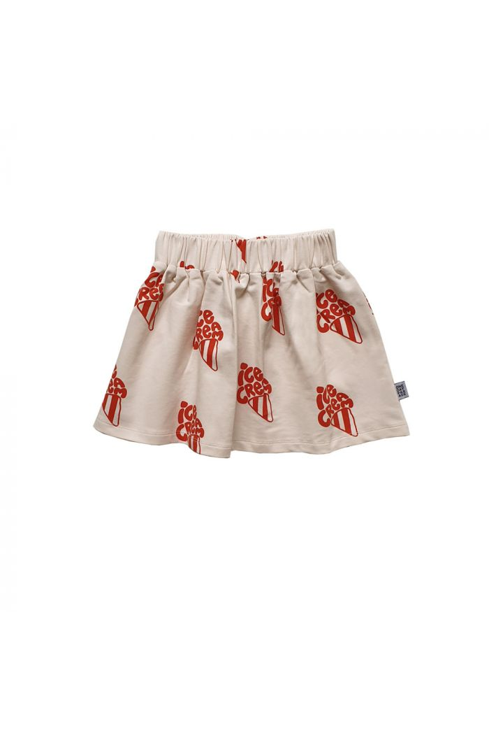 One Day Parade Skirt Red Ice cream All-over Print
