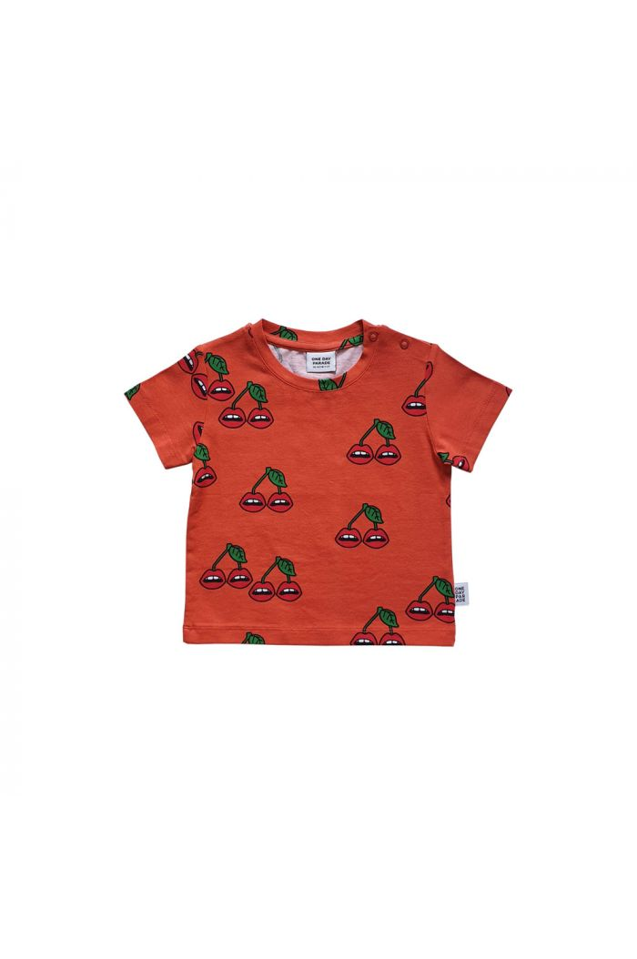 One Day Parade T-shirt Cherry All-over Print