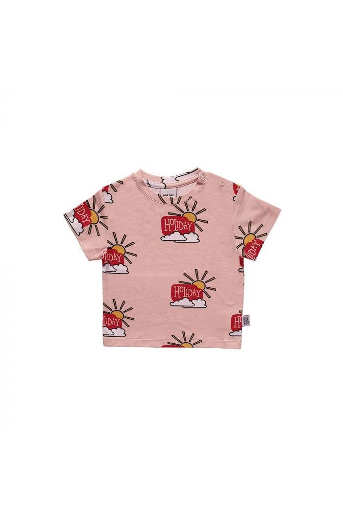 One Day Parade T-shirt Pink Holiday All-over Print