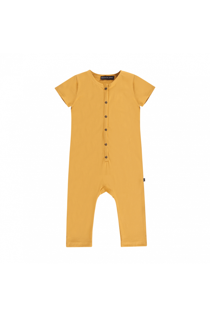 House Of Jamie Laidback jumpsuit Honey Mustard