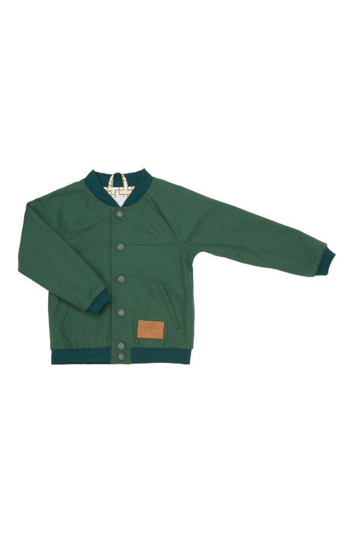 Mon Petit Loup Muus Basketball Jacket Army green