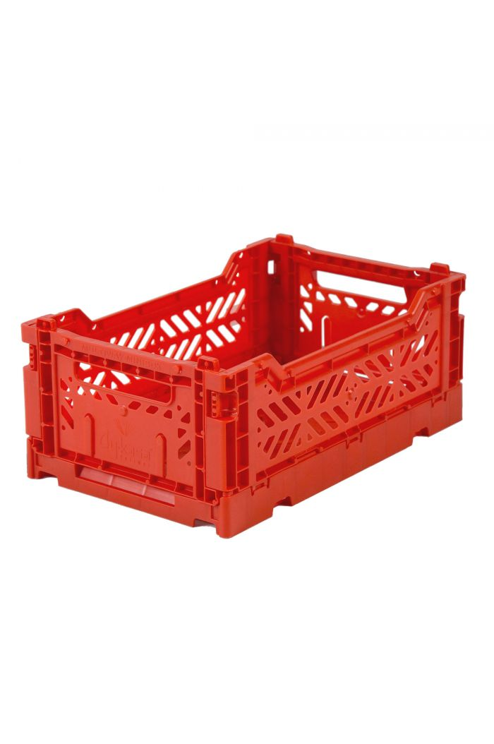 Ay-Kasa Folding Crates Red