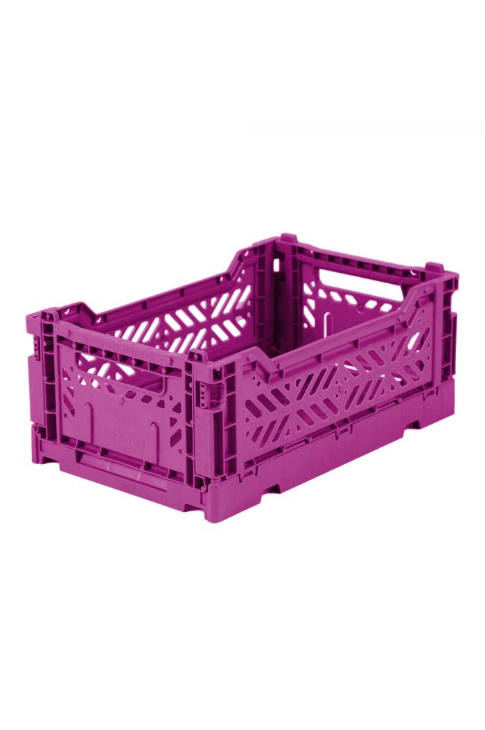 Ay-Kasa Folding Crates Purple