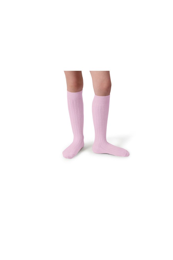 Collegien Knee High Socks Rose Petit Jes