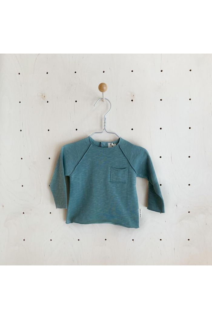 Broer & Zus Sweater Pocket Cactus