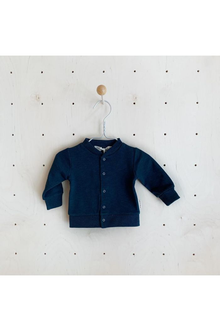Broer & Zus Cardigan Push Buttons Navy