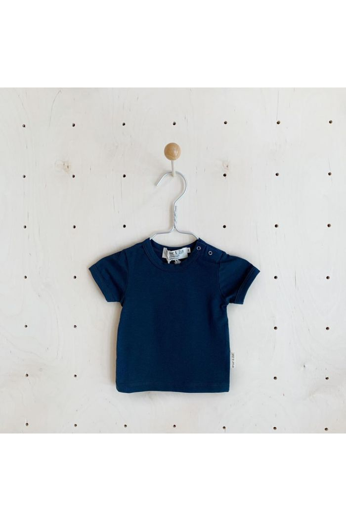 Broer & Zus T-shirt short Sleeve Navy