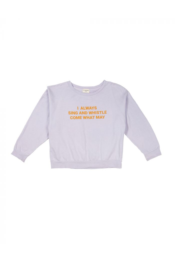 The Campamento Sweatshirt Purple Sing and Whistle