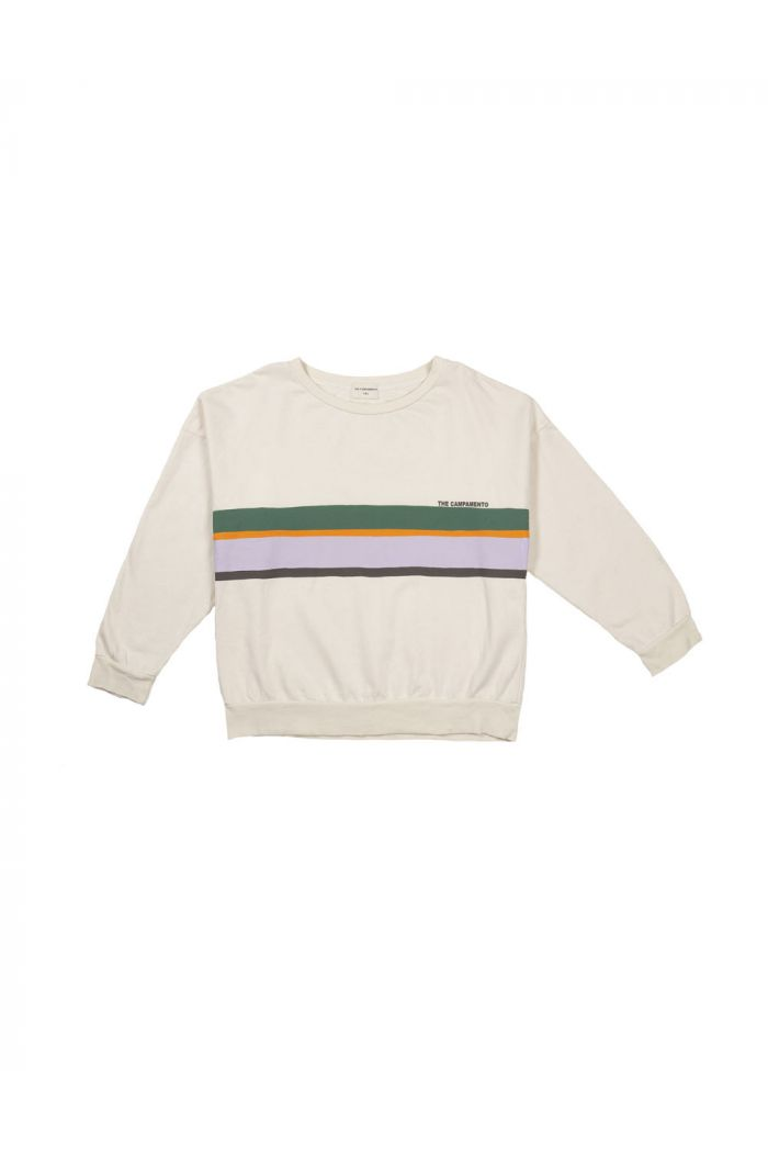 The Campamento Sweatshirt Colorfull Lines