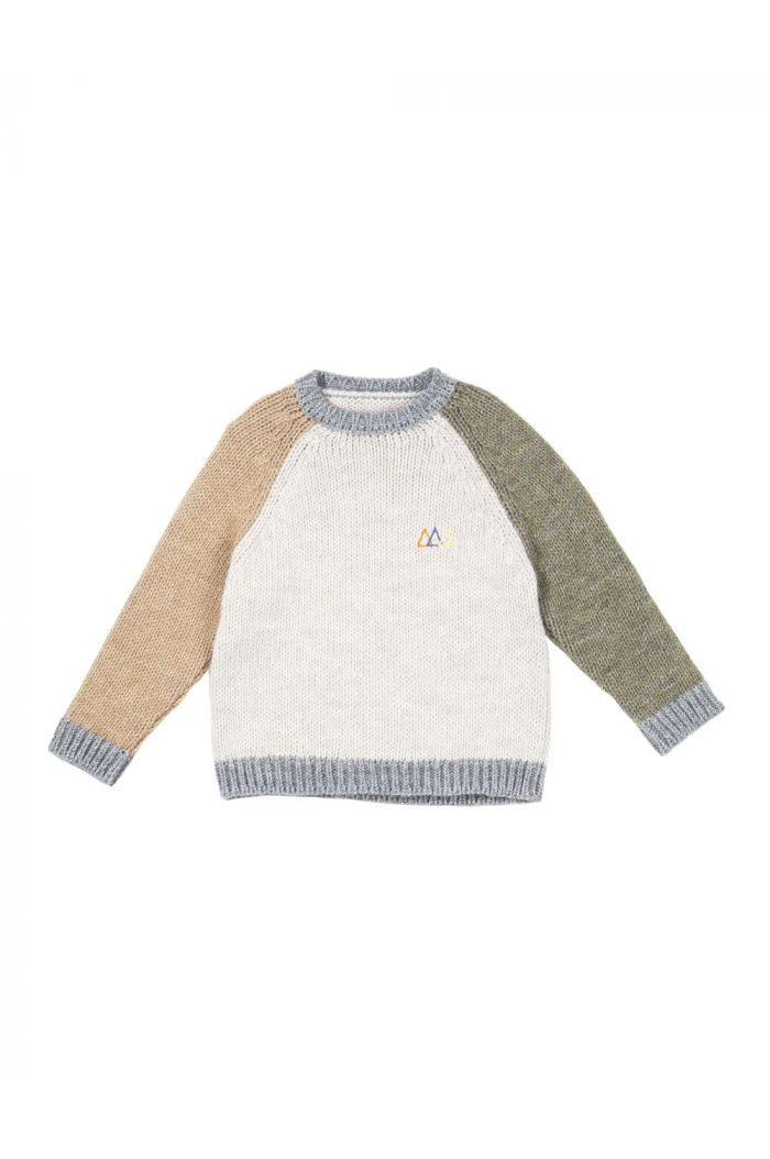 The Campamento Knitwear Color Block
