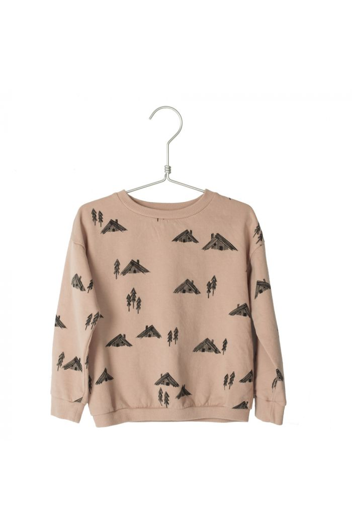 Lotiekids Sweatshirt Cottages Dusk Pink
