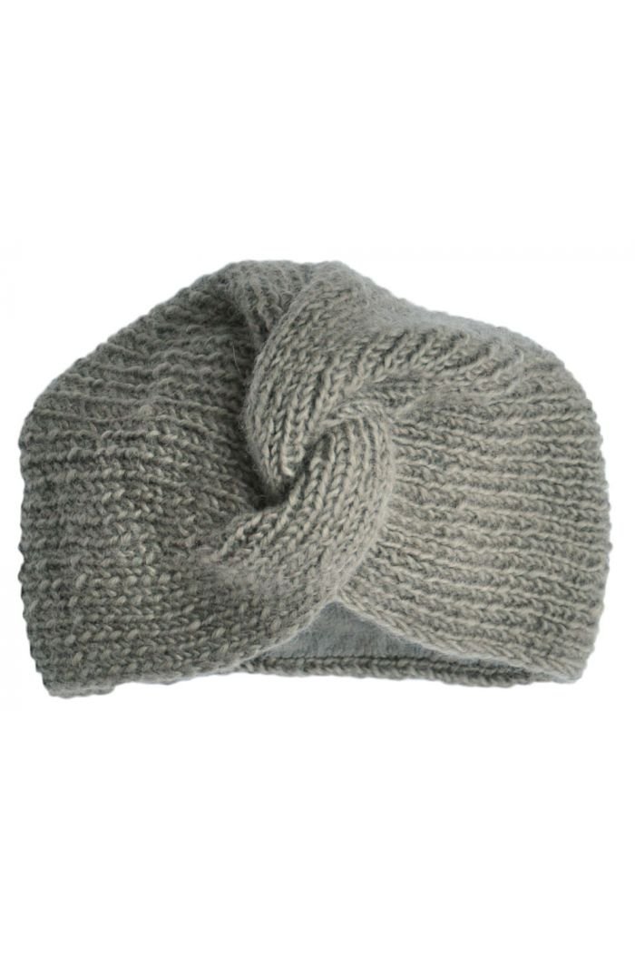 Hats over Heels Turban hat Light grey