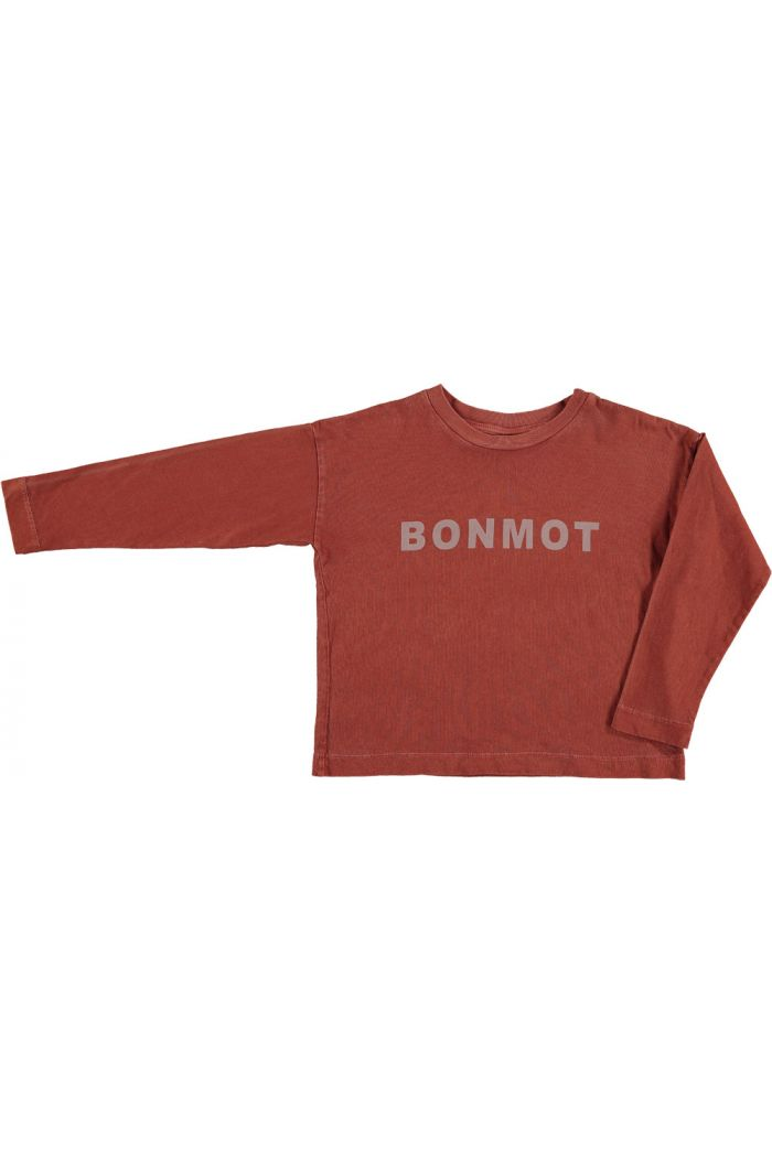 Bonmot Relax Long Sleeved T-Shirt Tomato