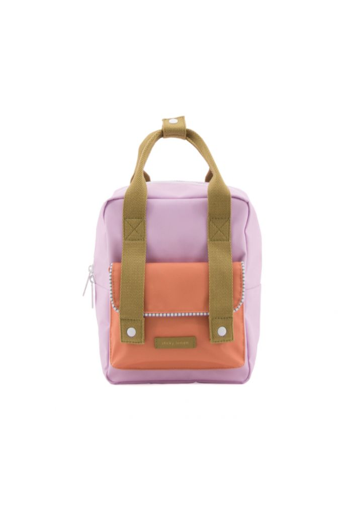 Sticky Lemon Small backpack envelope deluxe gustave lilac | concierge orange | madame olive