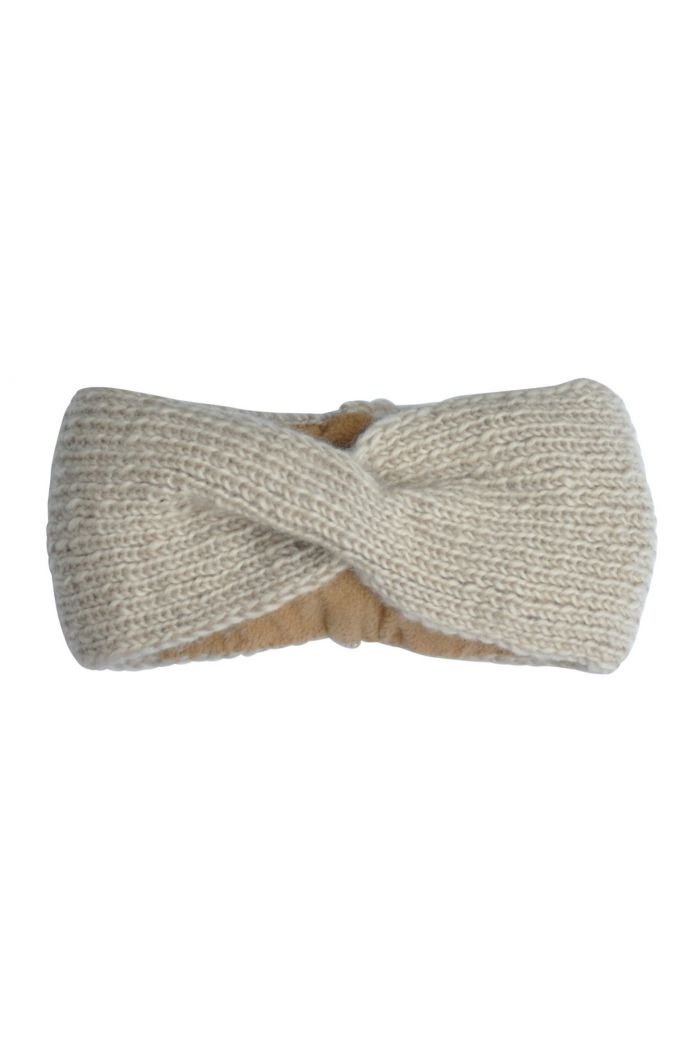 Hats over Heels Turban Headbands Beige